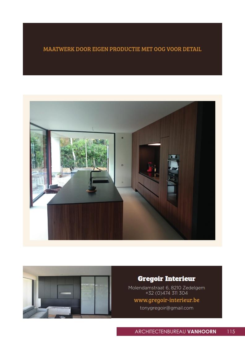 gregoir interieur bouw magazine vlaanderen. Black Bedroom Furniture Sets. Home Design Ideas